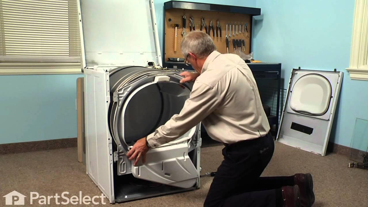 Replacing your Amana Dryer Single Drum Glide Felt Pad