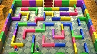 Mario Party 10 - Airship Central - Mario VS Luigi