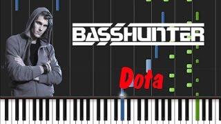 Basshunter - Dota [Synthesia Tutorial]
