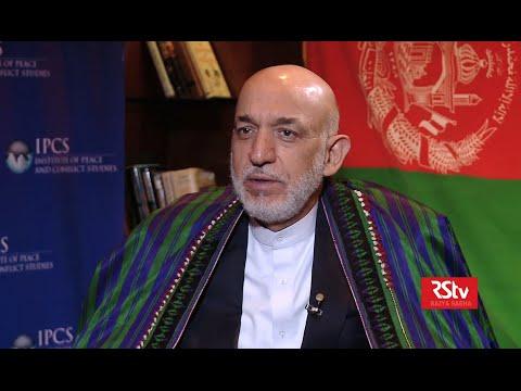 Khas Mulakat with Hamid Karzai