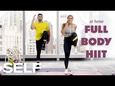 30-Minute HIIT Cardio Workout med oppvarming