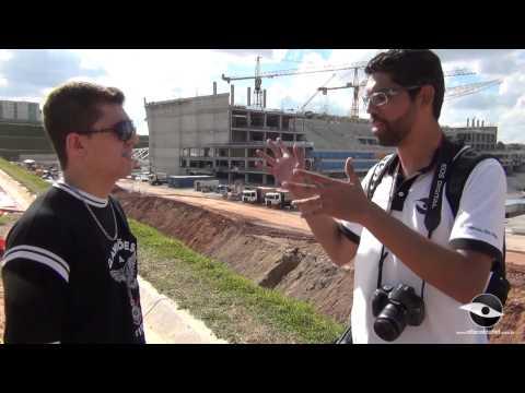 Obras da Arena Corinthians em 12/03/2013 - Módulo oeste