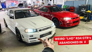 BUYING TWO MORE R34 GTR's? *Left Hand Drive Converted from Dubai*
