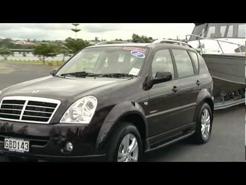 Ssangyong Rexton Towing Review Video