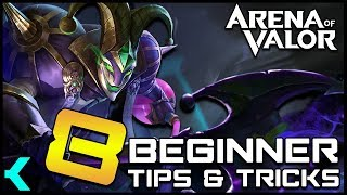 Eight Beginner Tips & Tricks Every New Player SHOULD KNOW!! Arena of Valor