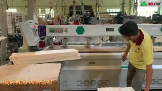 MÁY KHOAN NGANG CNC HOLZTEK KHOAN CAM KHOAN CHỐT SIÊU TỐC GIÁ TỐT