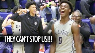 Bronny James GETS HOT! Sierra Canyon CAN'T BE STOPPED At The Tarkanian Classic
