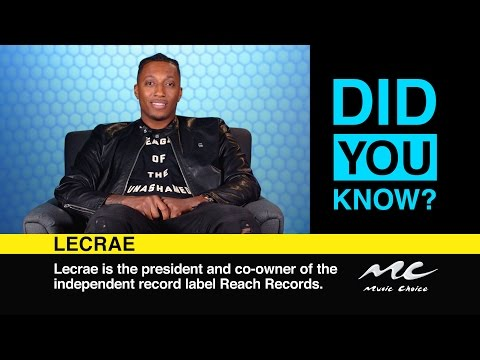 Lecrae: Did You Know?