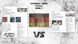REGIONAL Trier | SW Destiny | Finals G1  | YodaLeia VS ThrawnSnoke
