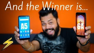 Redmi 6A Vs Lenovo A5 Comparison ⚡⚡ Best Entry Level Budget Smartphone is...