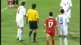 アテネ五輪セルビアモンテネグロvsチュニジア