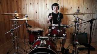 Bastien Lafaye - Architects - These Colours Don't Run Drum Cover