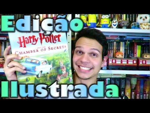 Edic?a?o Ilustrada de Harry Potter e a Ca?mara Secreta | Cultura e Pro?xima Leitura