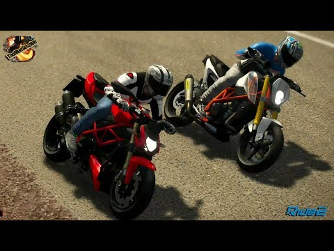 Ducati Streetfighter 848 133cv 849cc 169kg (NAKER) - HELLENIC TOWERS Circuit West - Ride 2