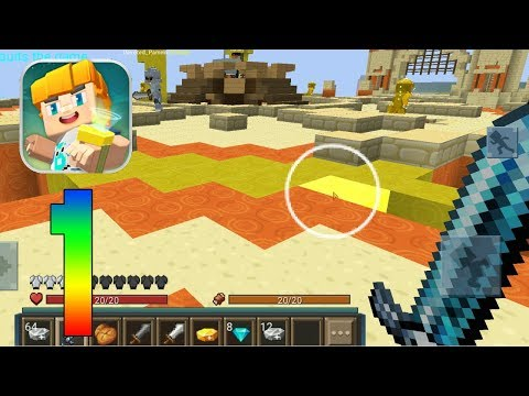 Blockman GO - EGG Wars in the Minecraft Mode #1 Gameplay