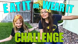Eat it or Wear it Challenge! | My Life Fast Forward