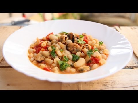 Pasta Fagioli with Mussels & Nonna Recipe – Laura Vitale – Laura in the Kitchen Episode 629