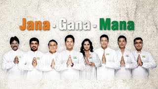 "Indian National Anthem, ""Jana Gana Mana"" by The Sports Heroes | Sachin Tendulkar, Sania Mirza & More"