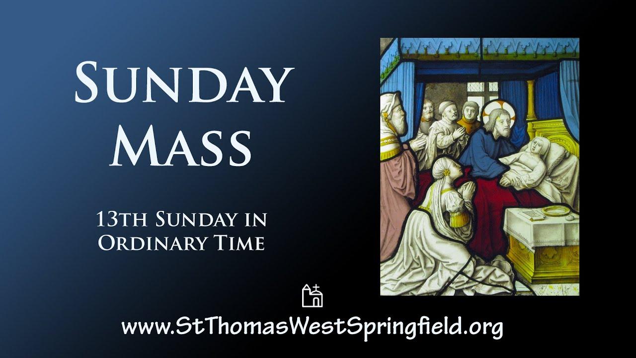 Catholic Sunday Mass 27th June 2021 Online Mass