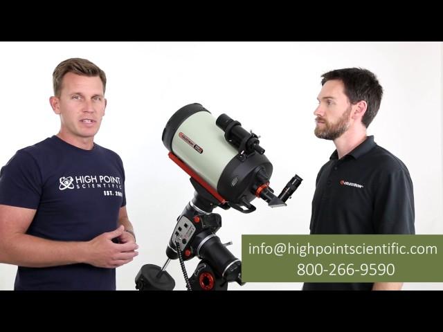 Celestron CGEM II 925 EdgeHD Computerized Telescope - 12018