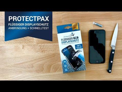 """ProtectPax - flüssiger Displayschutz (""""Die Höhle der Löwen"""") UNBOXING+SCHNELLTEST!"""