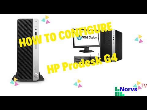 Enable PXE / Legacy boot BIOS settings HP Elitedesk 800G2