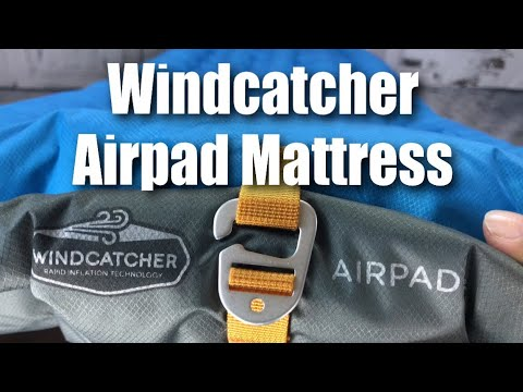 Windcatcher AirPad 2 Plus Sleeping Pad Air Mattress Test and Review