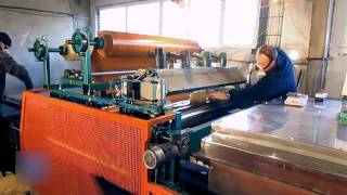 PUR HOT MELT PVC FILM ROLLER LAMINATION TECHNOLOGY