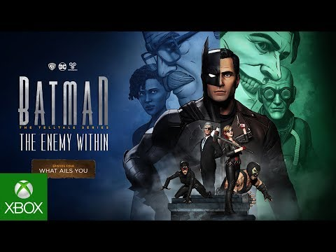 Batman: The Enemy Within – The Telltale Series – Episode 4 – Launch Trailer