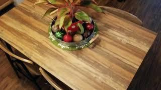 MY NEW KITCHEN TABLE   WALMART    BUDGET DECORATING