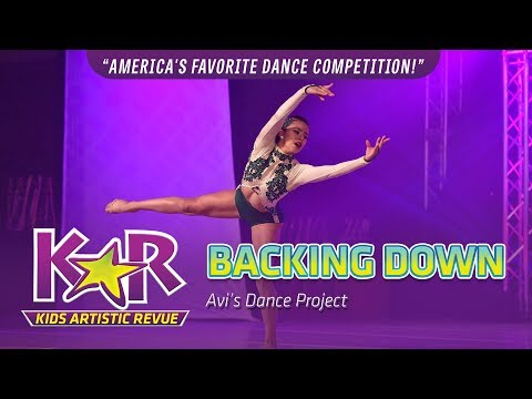 """""""Backing Down"""" from Avi's Dance Project"""