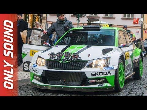 NEW SKODA FABIA R5 TAXI 2018 - PRAGA - RALLY STYLE TAXI DRIVES IN PRAGUE letöltés