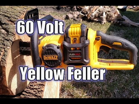 DEWALT DCCS670X1 FLEXVOLT 60V Brushless Chainsaw Review