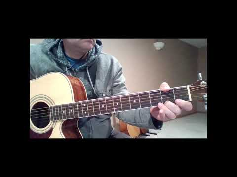 "Guitar Demonstration of ""Mary Don't You Weep"""