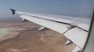 preview picture of video 'AIR ASTANA KC181 ATYRAU-AKTAU landing'