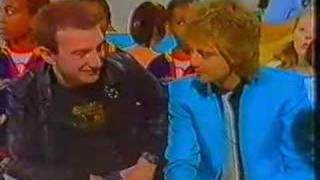 Roger Taylor and John Deacon Tiswas