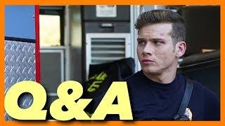 Oliver Stark Talks '9-1-1' Season 2 in Q&A