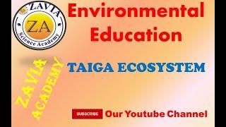 Where's the Taiga Biome located? TAIGA ECOSYSTEM