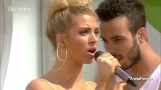 Aneta Sablik - The One (ZDF Fernsehgarten 11.05.2014)
