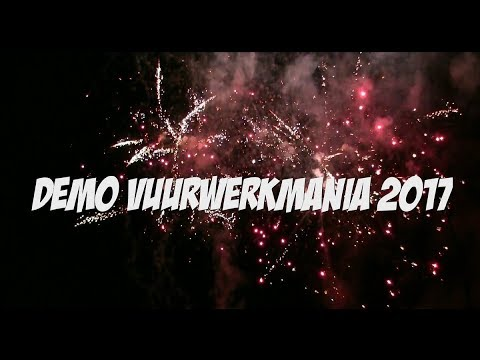 Vuurwerkmania verzort weer een demoshow bij Flevonice in Biddinghuizen