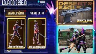 Loja do Desejo com Skins Raras, Nova Incubadora dos Coelhos e Desert Eagle de Volta!
