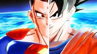 GOKU SUPERMAN FUSION! 4 TRANSFORMATIONS! - Dragon Ball Xenoverse 2 Mods | Pungence