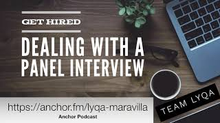 Dealing with a Panel Interview