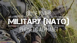 The Military Phonetic Alphabet