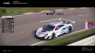 Gran Turismo™SPORT - Circuit de Sainte Croix McLaren 650S Gr3 (online race)