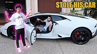 STOLEN LAMBO PRANK ON FaZe Rug! (ALMOST CALLED THE COPS)