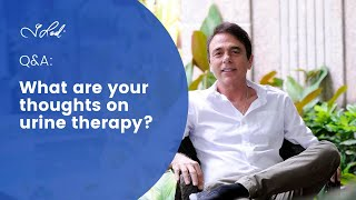 Q&A with Dr Lodi: Urine Therapy
