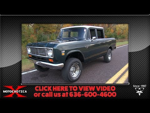 Video of '74 Wagonmaster - Q542