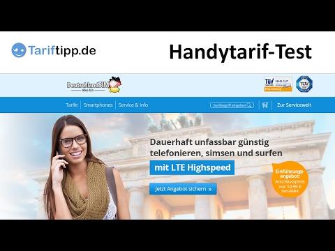 DeutschlandSIM Handytarife im Test | deutsch
