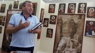 Мастерская икон в Греции